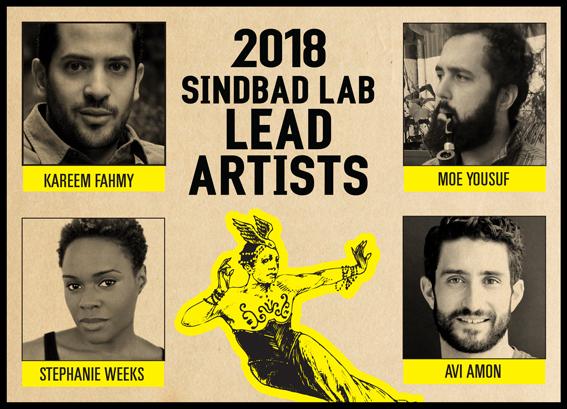 SIndbad Lab Artists