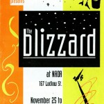 The Bizzard November 25 - December 23, 1995 @ NADA