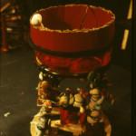The Cauldron designed by Carol Bailey